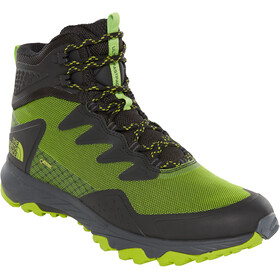 The North Face Ultra Fastpack III Mid GTX Kengät Miehet, tnf black/tender green